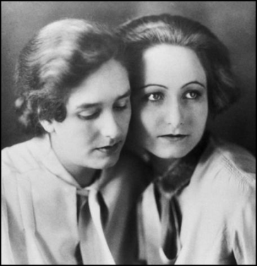 Erika Mann and Pamela Wedekind (1927)