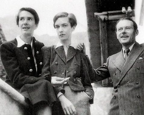 Erika Mann, Annemarie Schwarzenbach and Klaus Mann