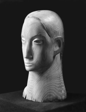 Barbara Hepworth, 'Head in Acacia Wood', 1932