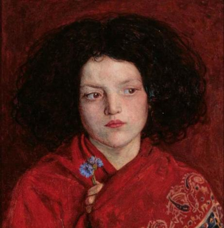 Ford Madox Brown. 'The Irish girl',1860