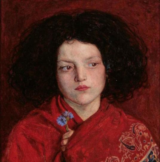 Ford Madox Brown. 'The Irish girl',1860