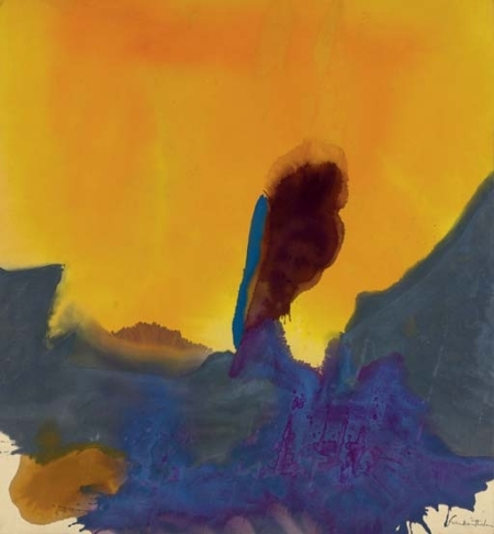 Glow II, by Helen Frankenthaler, 1968
