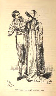 Belinda and Mr Hervey from version 1896