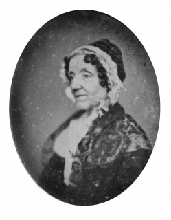 Maria Edgeworth by Richard Beard, daguerreotype, 1841