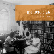 the 1930 club blog banner