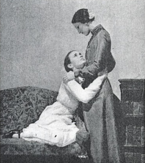 1932 British theatre adaptation with Jessica Tandy as Manuela