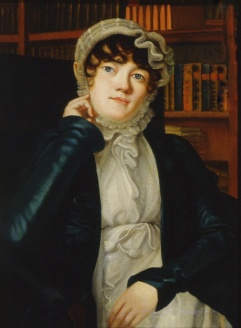 Karolina Pavlova, author of poetry and the novel A Double Life, as painted by V. F. Binemann