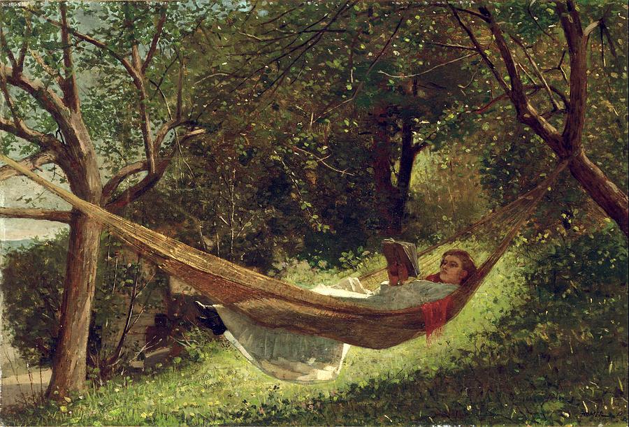 2-girl-in-the-hammock-winslow-homer