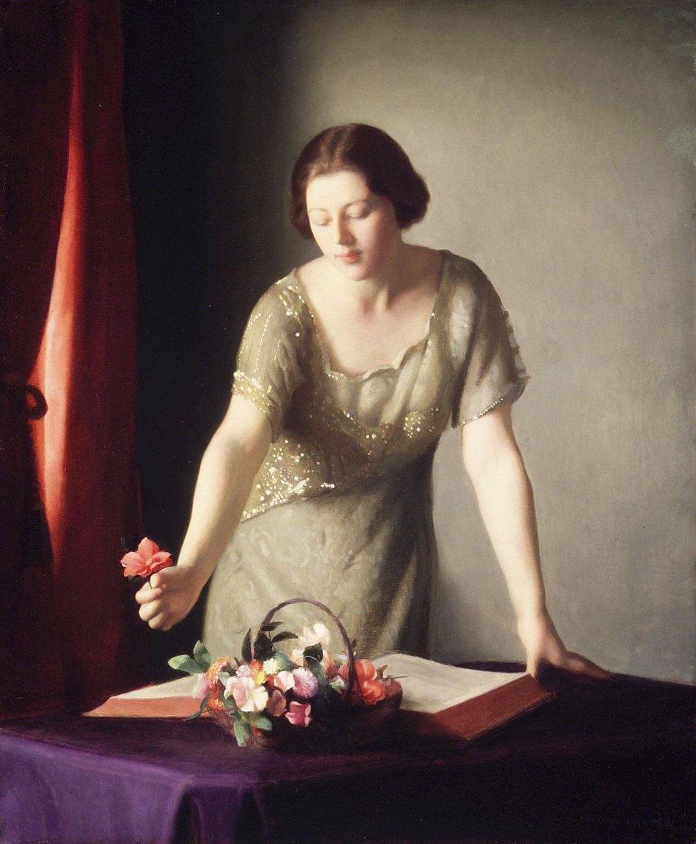 La disposizione dei fiori William McGregor Paxton - 1921