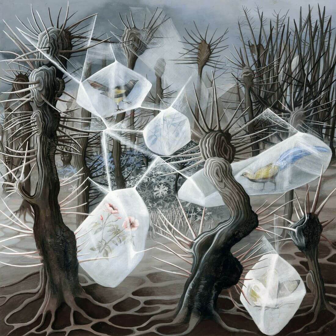 Allegory of Winter, 1948 by Remedios Varo