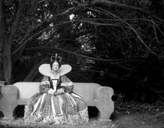 Edith Olivier, dressed as Queen Elizabeth I, photographed by Cecil Beaton in 1939